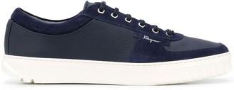 Salvatore Ferragamo Leather Sneakers