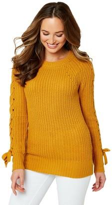 Joe Browns Chunky Knit Jumper- Yellow