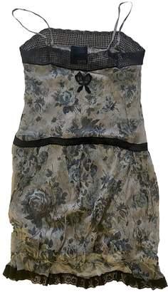 Meadham Kirchhoff Grey Silk Dresses