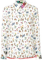 Paul Smith Floral blouse - women - Silk/Acetate/Viscose - 40