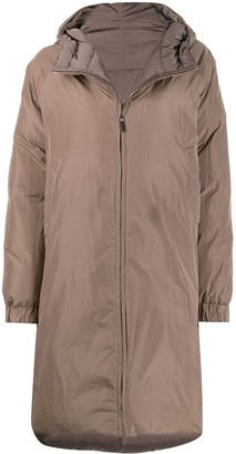 Max Mara Reversible Quilted Puffer Coat