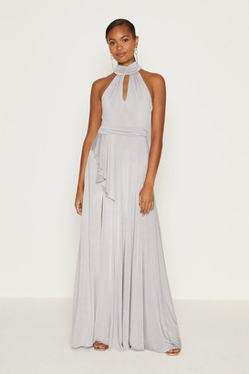 Coast Jersey Halter Neck Maxi Dress