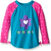 Hatley Girl's Little Hearts Rashguard (Toddler/Little Kids/Big Kids)