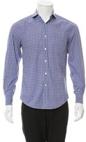 Brunello Cucinelli Plaid Button-Up Shirt
