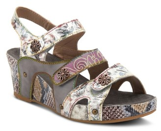 L'artiste By Spring Step Prosperity Wedge Sandal