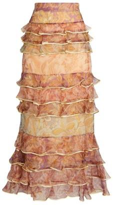 Zimmermann Lucky Tiered Skirt