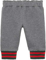 Gucci Baby felted cotton jogging pant