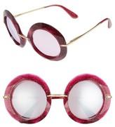 Dolce & Gabbana Women's 50Mm Round Sunglasses - Crystal