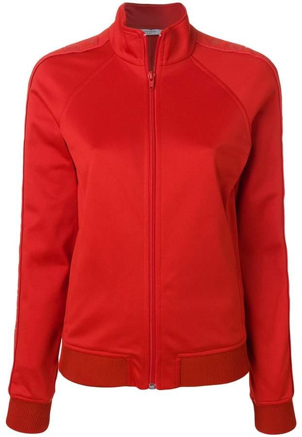 Givenchy Red Logo Stripe Track Jacket