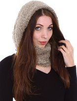 Simplicity Women's Winter Knit Neck Warmers Fuzzy Cowl Snood Infinity Scarves