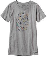Patagonia Women's Sea Doodle Recycled Cotton/Poly Responsibili-Tee