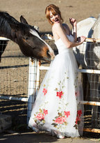 ModCloth Chi Chi London All the Way to the Banquet Maxi Dress in White in 12