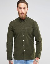 Levis Levi's Sunset Pocket Cord Shirt Olive