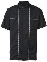 Lanvin contrast stitch shirt