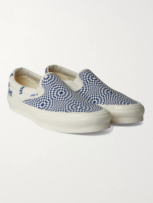 Vans Og Classic Lx Printed Canvas Sneakers