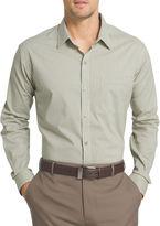 Van Heusen Long-Sleeve Non-Iron Traveler Stretch Button-Front Shirt