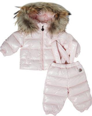 Moncler 2-Piece Hooded Snowsuit