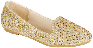 Amy Women's Loafers champn - Champagne Anna Studded Loafer - Women