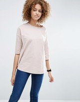 Asos Oversized Top With Seam Detail