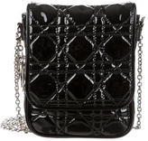 Christian Dior Cannage Patent Leather Crossbody