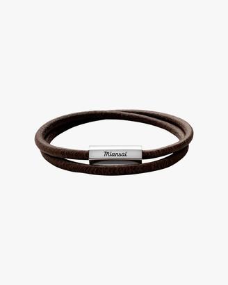 Miansai Men's Bare Wrap Bracelet