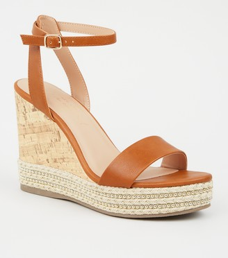 New Look Espadrille Trim 2 Part Wedges