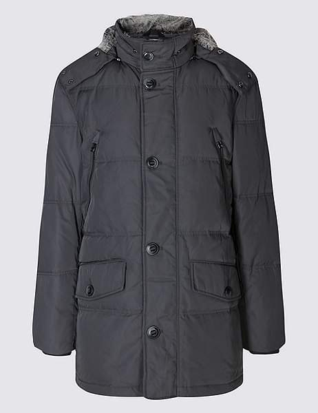 Marks and Spencer Down & Feather Parka with StormwearTM