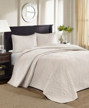 Madison Home USA Quebec 3-Piece Queen Quilted Bedspread Set