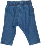 Bonds Baby Dark Terry Denim Pant Blue