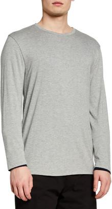 Vince Men's Double-Layer Cotton T-Shirt