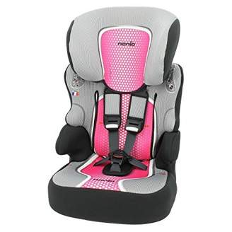Car seat Highback Booster with Harness - Group 1/2/3 (9-36kg) - Made in France - 3 Stars Test ADAC-Approved ECE R44/04.