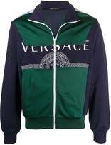 Versace medusa logo bomber jacket