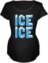 Old Glory Ice Ice Baby Maternity Soft T-Shirt - 2X-Large