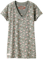 WOMEN Cath Kidston Charity Project V Neck Short Sleeve T B