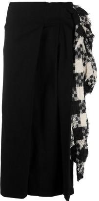 Yohji Yamamoto Ruffled Skirt