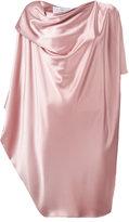 Gianluca Capannolo draped midi dress - women - Polyester/Triacetate - 44