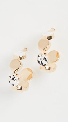 Jennifer Zeuner Jewelry Bea XS Small Hoops