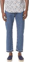 Levi's Rail Cropped Denim Jeans
