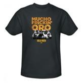 Gold Rush Mucho Oro T-Shirt - Grey