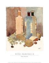 SAM. Image Conscious Dixon Wine Pairings II Art Print Poster