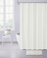 """Thumbnail for your product : Dainty Home Paris Chenille 70"""" x 72"""" Shower Curtain Bedding"""