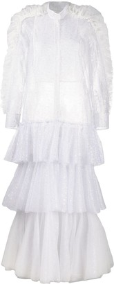 Viktor & Rolf Pina Colada ruffled tiered dress