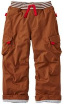 Boys Jersey Lined Cargos