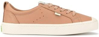 Cariuma OCA Low Nude Premium Leather Sneaker