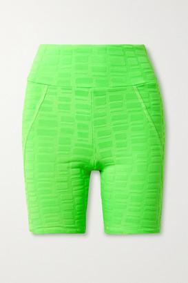 Twenty Montreal Rothko 3d Stretch Jacquard-knit Shorts