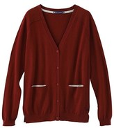 Petit Bateau Womens cotton knit cardigan with a cashmere feel