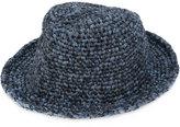 Issey Miyake woven hat - men - Nylon - One Size