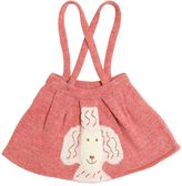 Oeuf Poodle Tricot Skirt W/ Suspenders