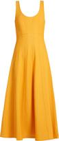 Tibi Scoop-neck A-line knit dress