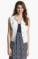 Vince Camuto Women's Two By White Denim Vest